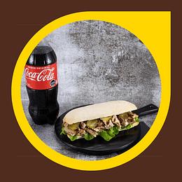 Sandwich Ciabatta Pollo + Coca Cola 1lt