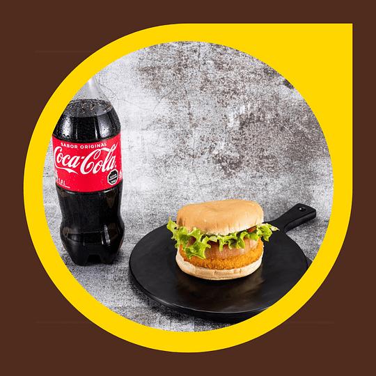 Sandwich Suprema Pollo Kaiser + Coca Cola 1lt