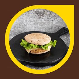 Hamburguesa Vegetariana Integral