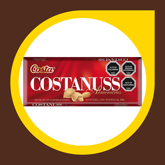 Chocolate Costanuss 160gr