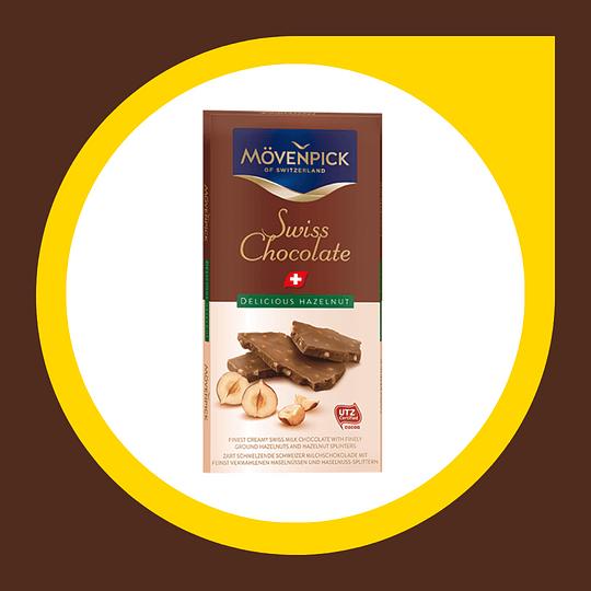 Chocolate Swiss Delicious Hazelnut 70gr