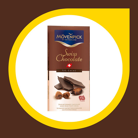 Chocolate Swiss 72% Cacao 70gr