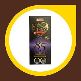 Chocolate Negro Dark 85% Cacao sin Gluten sin Azucar 100gr