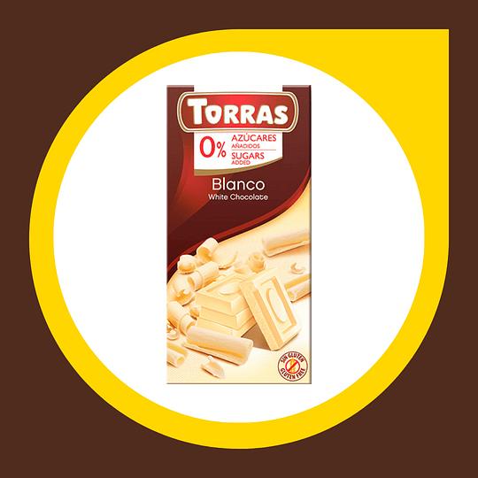 Chocolate Blanco Coco 0% Azucar 75gr