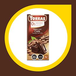 Chocolate Negro con Pepitas de Cacao 75gr
