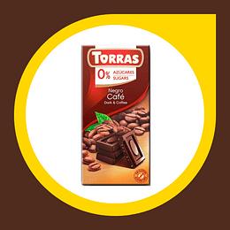 Chocolate Negro Cafe 0% Azucar 75gr