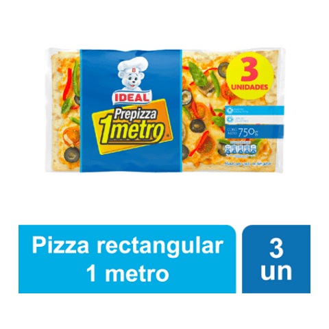 PRE PIZZA METRO - 750GR