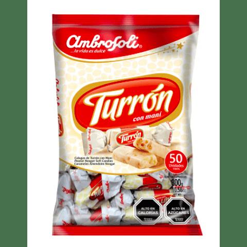 CARAMELO TURRÓN - 50 UNIDADES