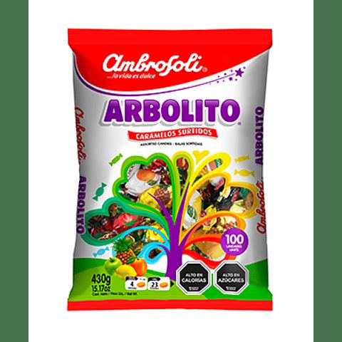 CARAMELO ARBOLITO - 100 UNIDADES