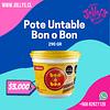 POTE RELLENO UNTABLE BON O BON - 290GR