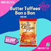 BUTTER TOFFEES BON O BON - 350 GR