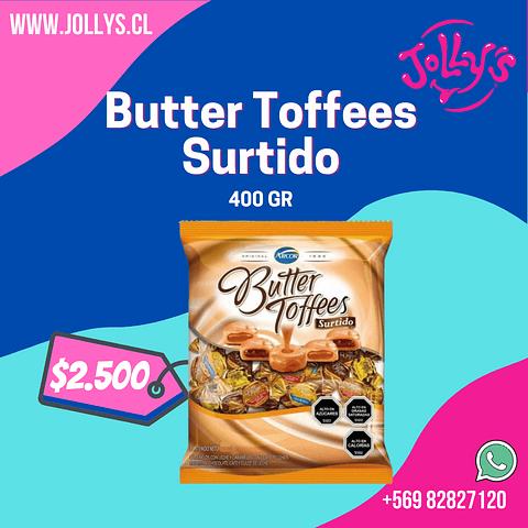 BUTTER TOFFEE SURTIDO - 400 GR