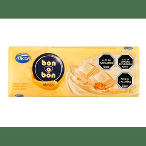 BON O BON TABLETA BLANCA - 110 GR