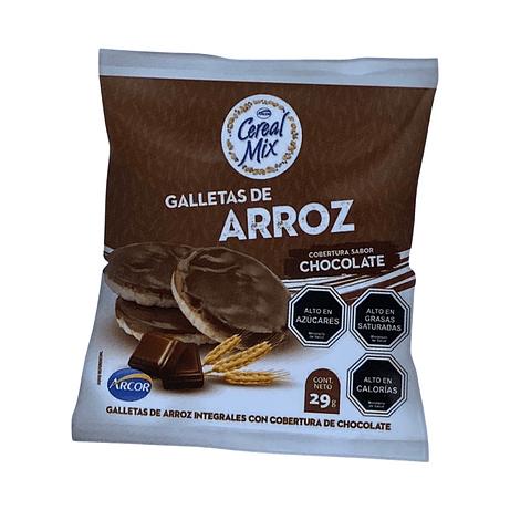 GALLETA ARROZ CHOCOLATE - 29 GR