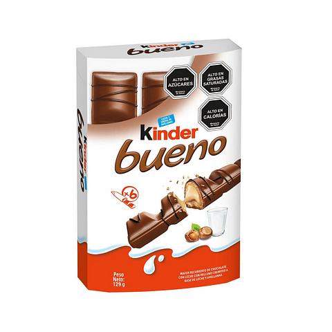 KÍNDER BUENO - 6 UNIDADES