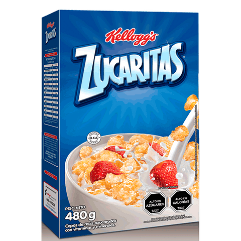 CEREAL ZUCARITAS - 480 GR