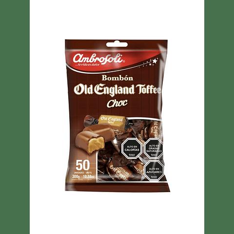 CARAMELO OLD ENGLAND TOFFEE CHOC - 50 UNIDADES