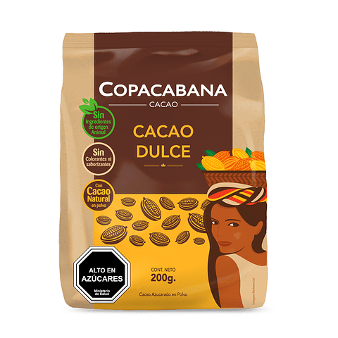 CACAO DULCE - 200 GR