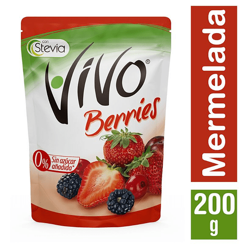 MERMELADA BERRIES - 200 GR