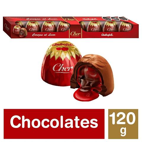 CEREZAS AL COGNAC - 120 GR