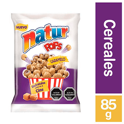NATUR POPS CARAMELO - 85 GR