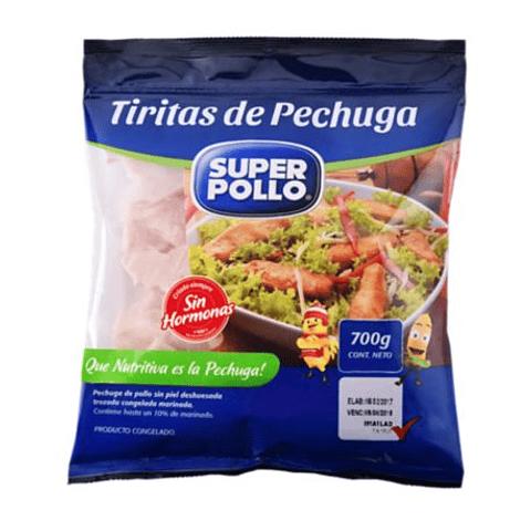 TIRITAS DE PECHUGA - 700gr