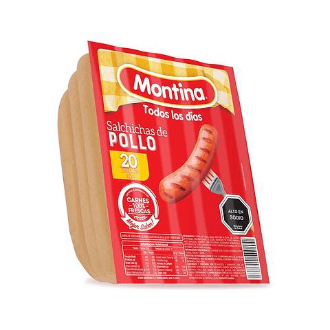 VIENESA DE POLLO - 20 UNIDADES