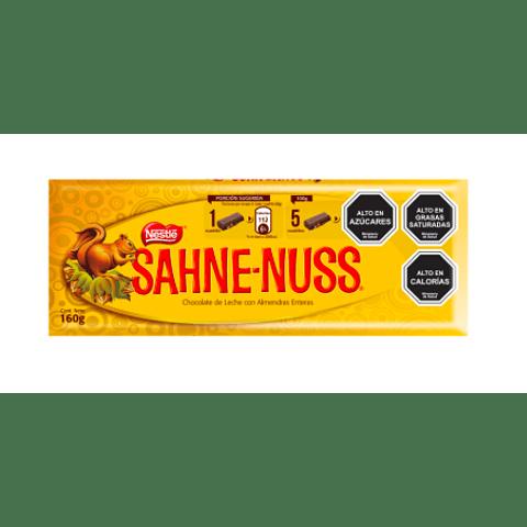 CHOCOLATE SAHNE NUSS - 160GR