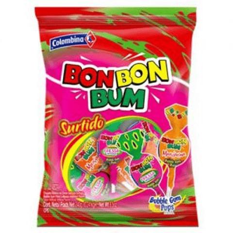 BON BON BUM SURTIDO - 24 UNIDADES