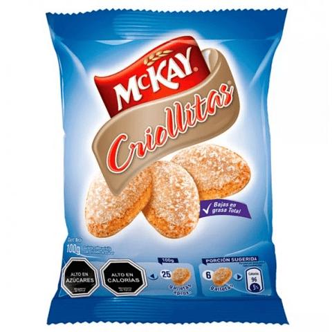 GALLETA CRIOLLITAS - 100GR