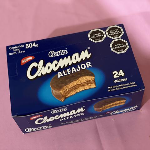 ALFAJOR CHOCMAN - 24 UNIDADES