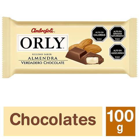 CHOCOLATE ORLY - ALMENDRA