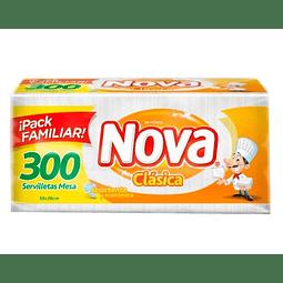 SERVILLETA - 300 UNIDADES