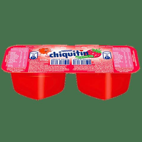 CHIQUITIN - 4 UNIDADES x 45GR