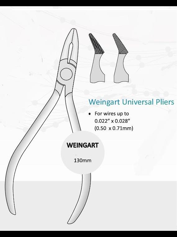 Alicate Weingart 13 cm