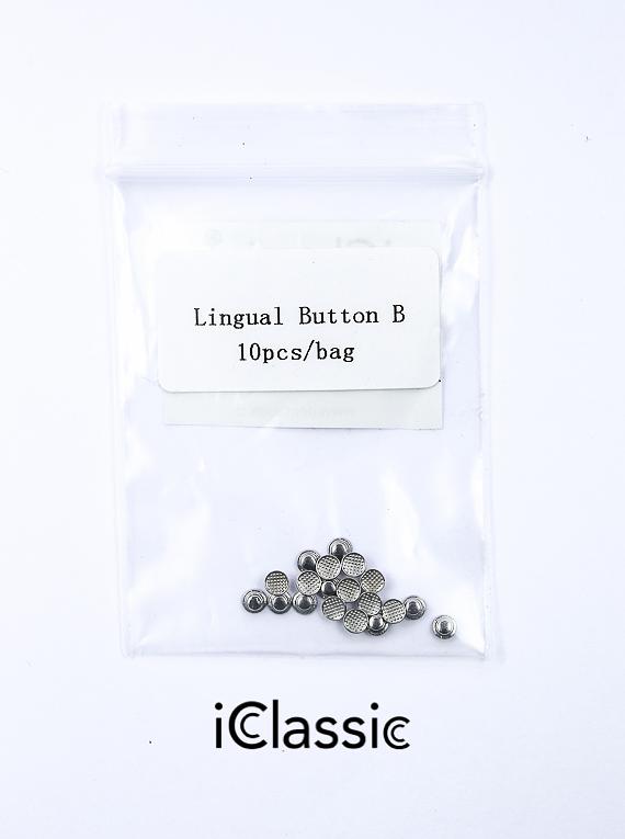 ICD Boton Lingual Bondeable Redondo PK10