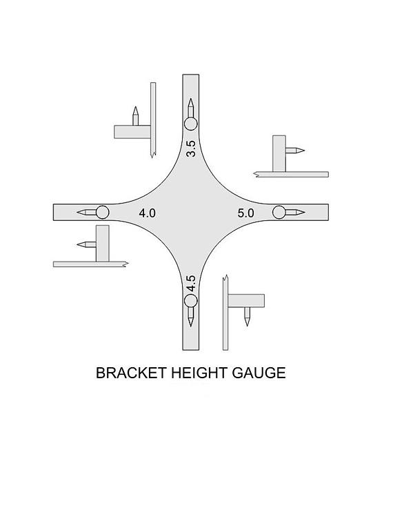 Posicionador brackets Estrella