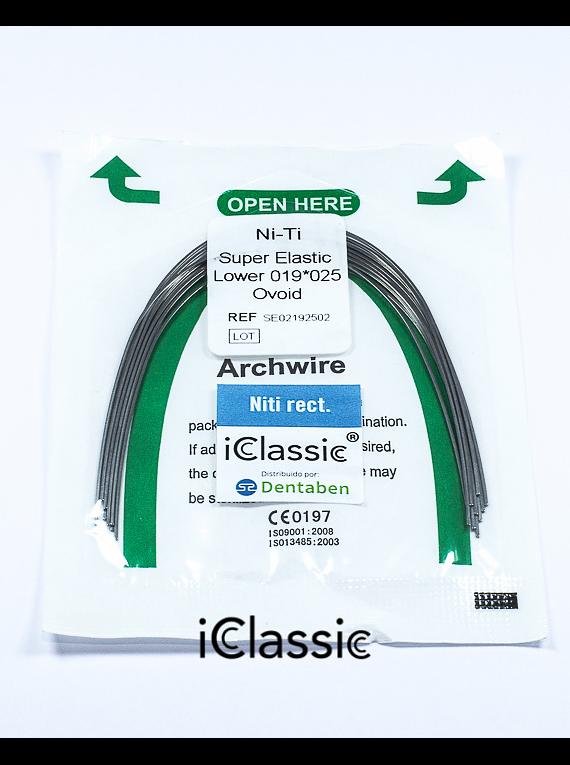 Arco Niti Super Elastic Rectangular Ovoide iClassic