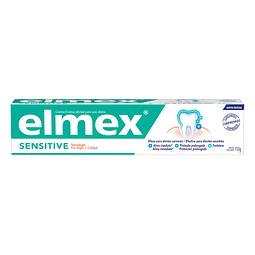 Pasta  dental elmex® Sensitive, efectiva para dientes sensibles