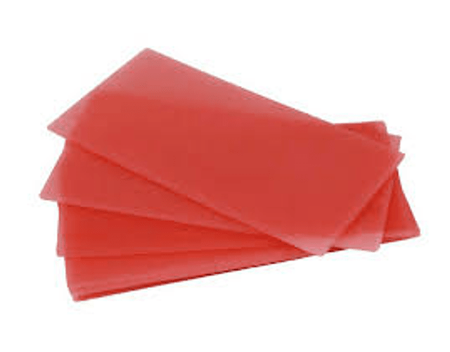 Cera Rosada Ecocera - Caja De 30 Laminas