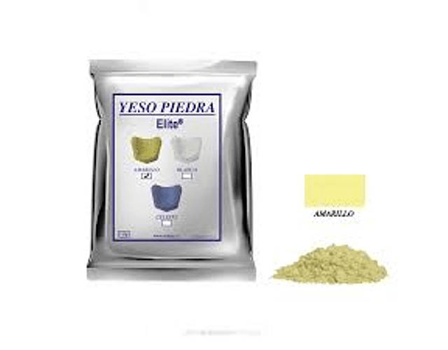 Yeso Piedra Amarillo - 1 Kilo