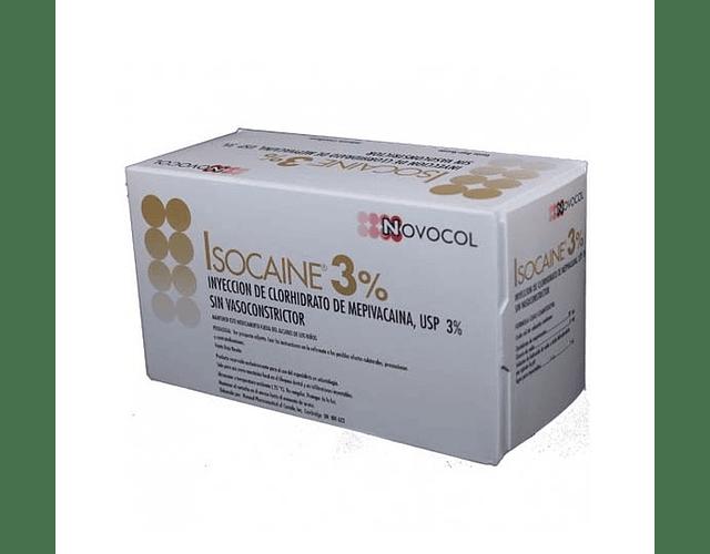 Anestesia Isocaina 3% - Novocol