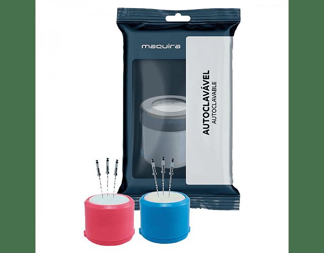 Esponjero Plastico Para Limas - Maquira
