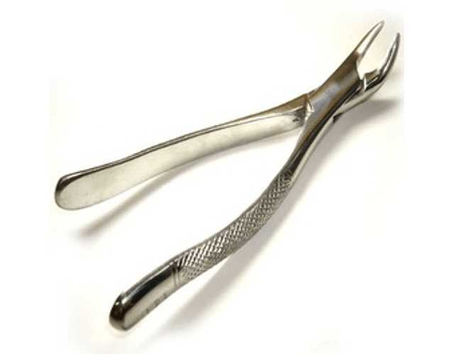 Forceps Adulto Bayoneta (Fino, Mediano, Grueso)