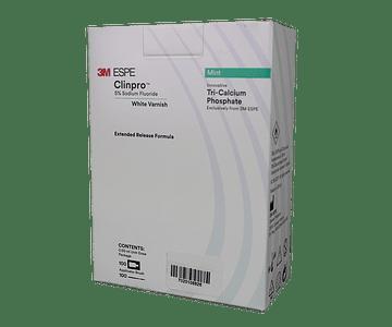 Clinpro White Varnish - Barniz de flúor con TCP - Kit 100 dosis