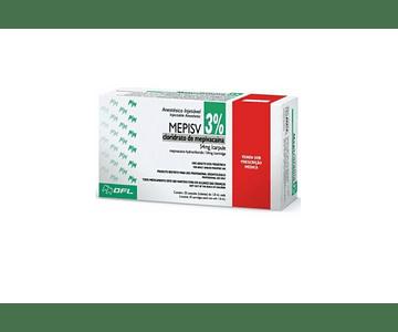Anestesia Mepivacaína 3% - DFL