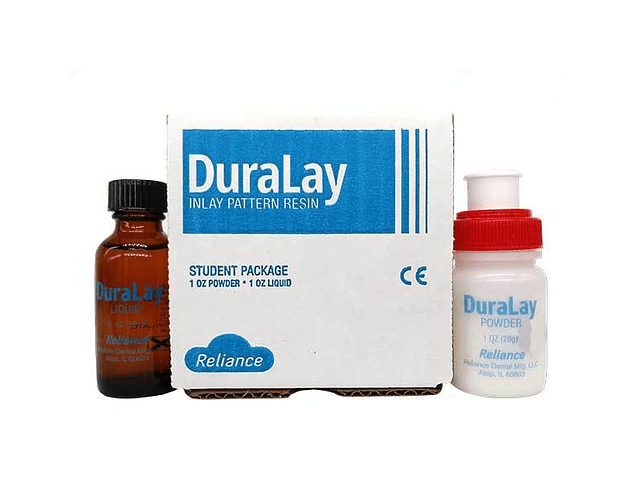 Acrilico Duralay 62 1 onza (rojo)