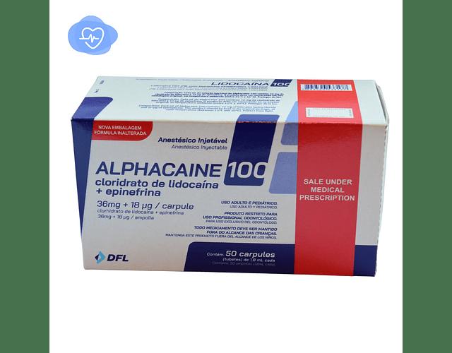 Anestesia 2% Alphacaina 1:100.000 DFL