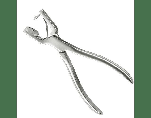Perforador goma dique