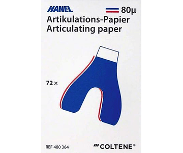 Papel Articular Herradura - Hanel - Coltene